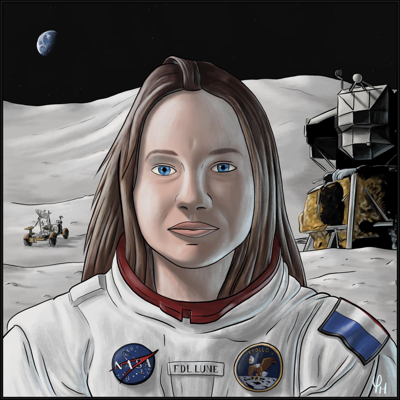 La Fille Dans La Lune