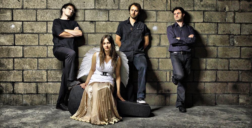 Groupe Klervia - album folk Under the surface
